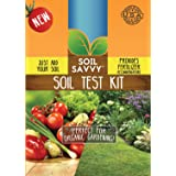 Soil Savvy - Soil Test Kit | Understand What Your Lawn or Garden Soil Needs, Not Sure What Fertilizer to Apply | Analysis Provides Complete Nutrient Analysis & Fertilizer Recommendation On Report (Color: Red, Tamaño: 1 Box (Contains Vial and Resin Capsule))