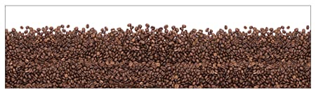 mySPOTTI 251009 profix Espresso, Kuchenruckwand, 220 x 60 cm