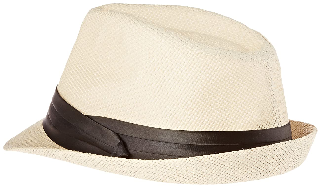 Simplicity Men / Women Summer Vintage Straw Fedora 1