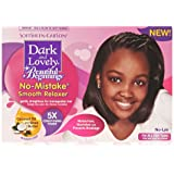 SoftSheen-Carson Dark and Lovely Beautiful Beginnings No-Mistake Smooth Relaxer For Kids, with Coconut Oil and Shea Butter, 1 Kit