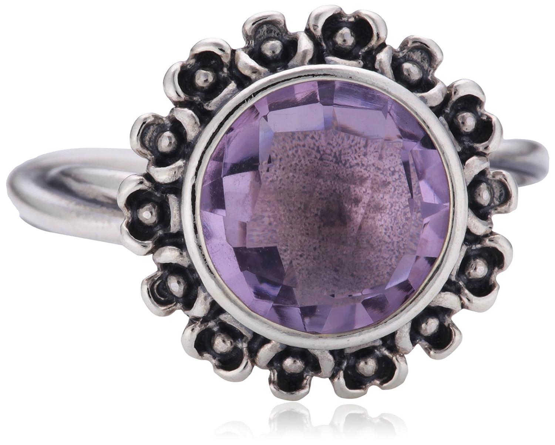 Pandora Damen-Ring mit Fliederfabenem Amethyst 190850Pam jetzt kaufen
