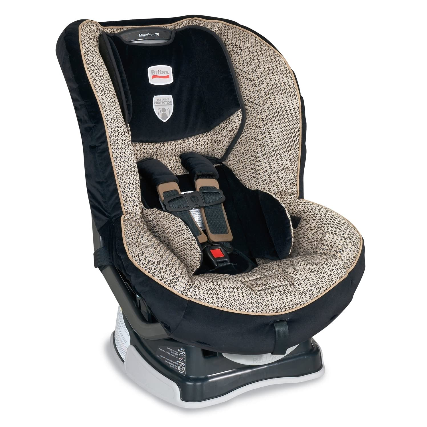 britax marathon 70 convertible car seat cover set only waverly ebay. Black Bedroom Furniture Sets. Home Design Ideas