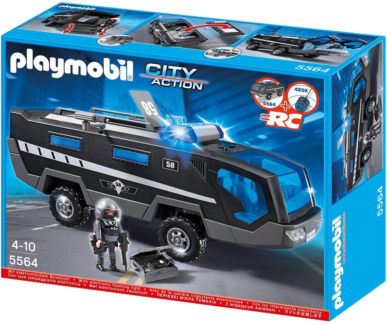PLAYMOBIL® SEK-Einsatztruck mit Licht und Sound (5564)