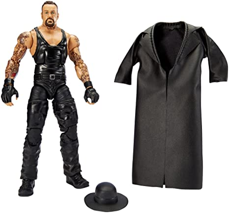 Mattel DLG24 WWE Wrestlemania Series 32 Undertaker Figure, 10.5-Inch by Mattel