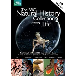 The BBC Natural History Collection 2: Featuring Life [10 Discs] [DVD]
