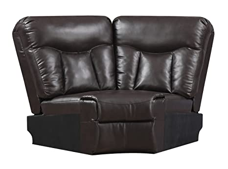 Glory Furniture G925-W Wedge for Sectional Sofa, Chocolate