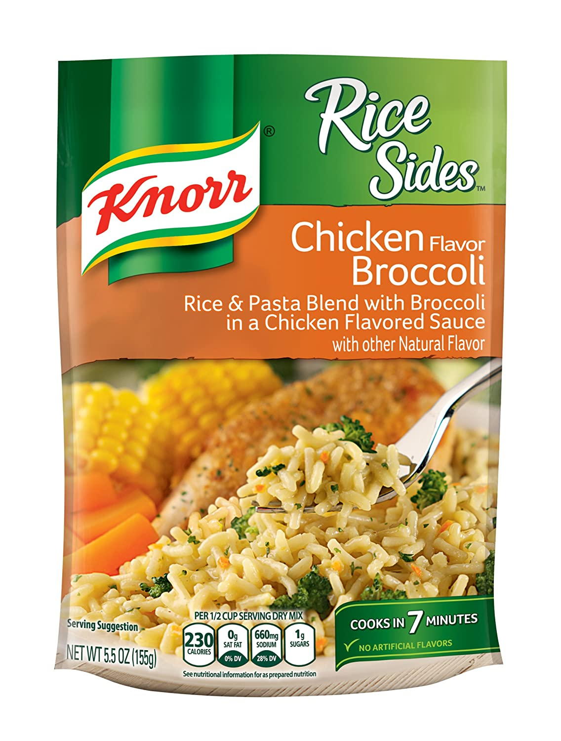 Knorr Rice Sides, Chicken Broccoli, 5.5 Ounce