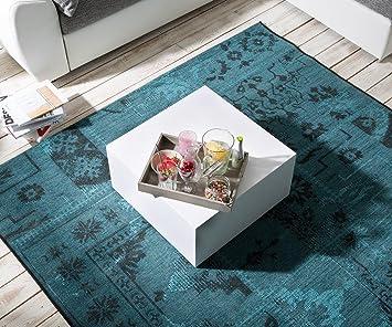 wohnzimmertisch serin hochglanz weiss 60x60 cm couchtisch. Black Bedroom Furniture Sets. Home Design Ideas