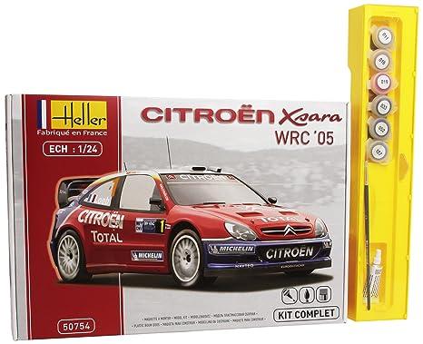 Heller - 50754 - Maquette - Citroën XSARA WRC05 Rallye d'Allemagne - Echelle 1:24