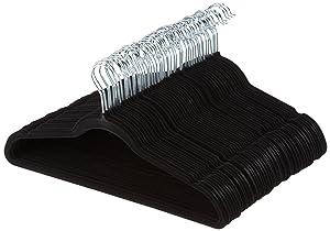 AmazonBasics Kleiderbügel mit Samt-Überzug
