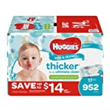 Huggies One & Done Baby Wipes, Scented (952 ct.) Packaging may vary