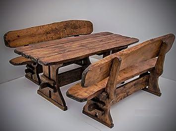 Timber Line Asiento Grupo máximo XL 200cm Outdoor Muebles de Jardín, marrón castaño