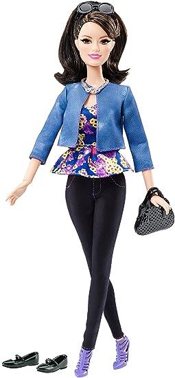 Barbie - Dhd87 - Amie Mode Luxe - Haut Imprimé Fleur