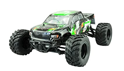 Amewi 22209–Evo 4m 4WD Monster Truck 1: 12, AMX Racing, véhicule