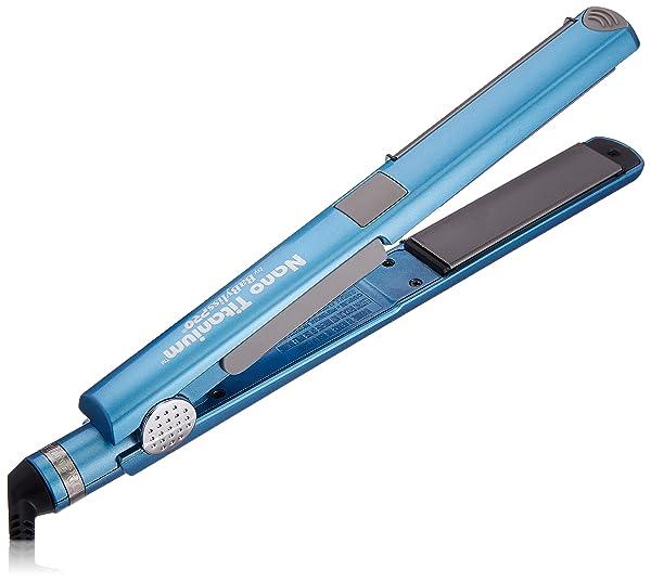BaBylissPRO Nano Titanium U Styler, 1 Inch (Color: Blue)