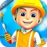都市を築きます 児童劇 : 都市を構築するためのディガー、トラックやクレーン - 子供のための建設ゲーム!無料ゲーム