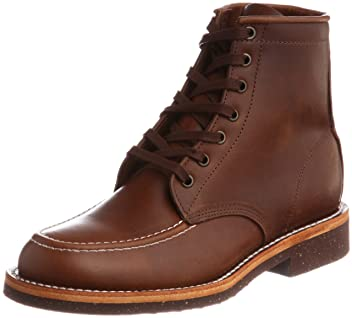 Pistolero 6 in Moc Toe Lace Up 110