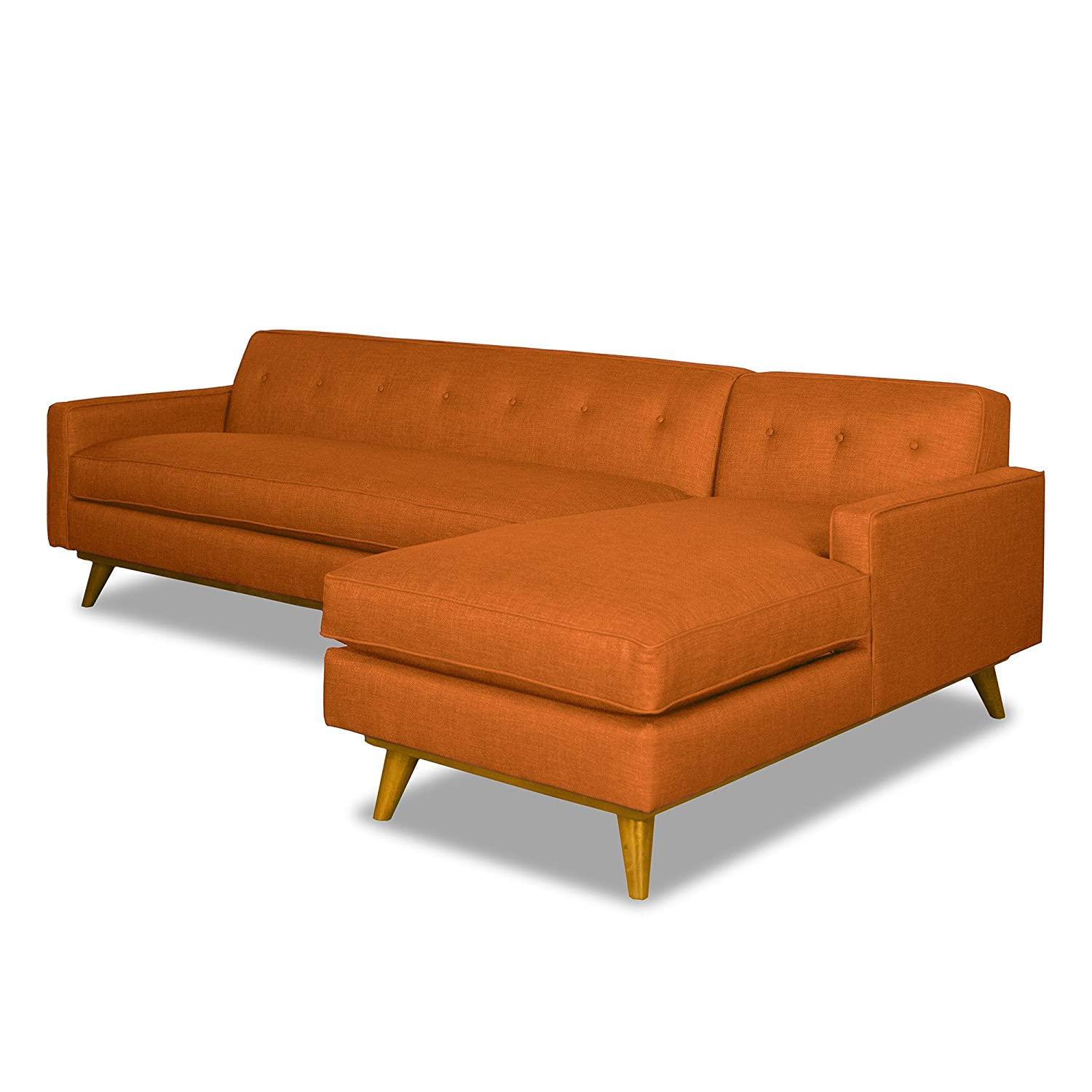 Clinton Ave 2pc Sectional - Sweet Potato