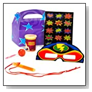 Super Hero Fun Favor Box Party Supplies