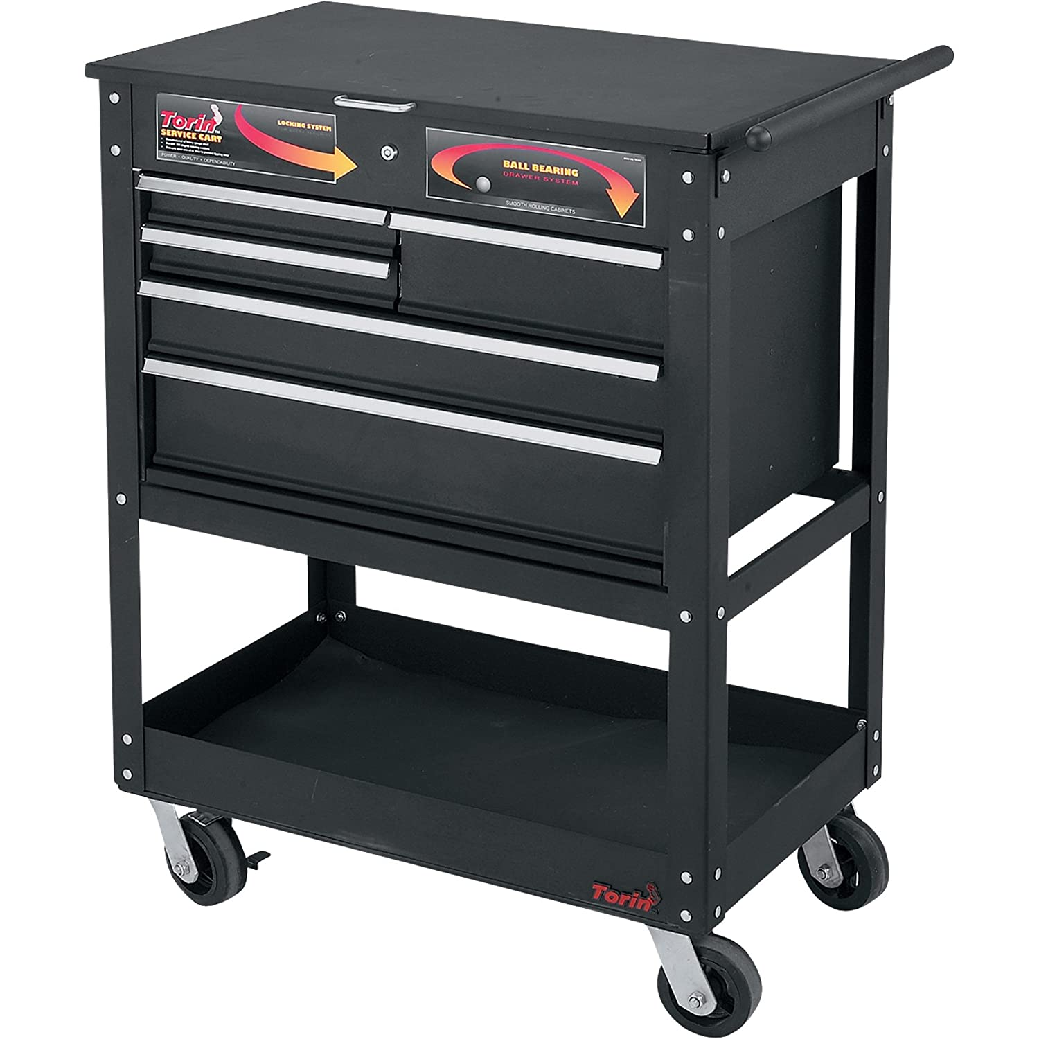 Torin Mechanic's Cart - 5 Drawer, Model# TC350