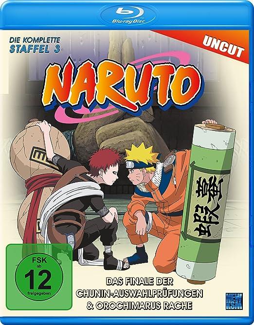 Naruto, Blu-ray