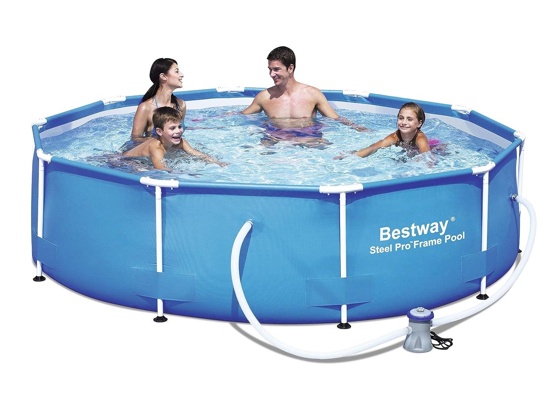 "Bestway 56059 Frame Pool ""Steel Pro"" Set mit Filterpumpe 305 x 76cm bestellen"
