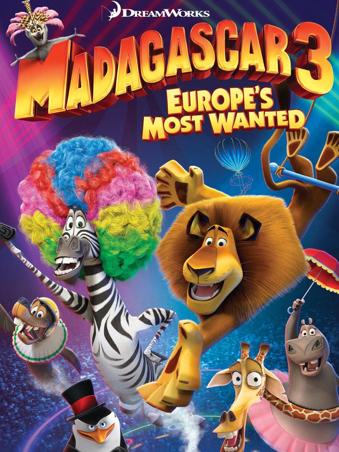 Madagascar 3: Europe's Most Wanted on Amazon Prime Video UK