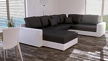 Sofa Couchgarnitur Couch Sofagarnitur STY 5.1 U Polstergarnitur Polsterecke Wohnlandschaft mit Schlaffunktion