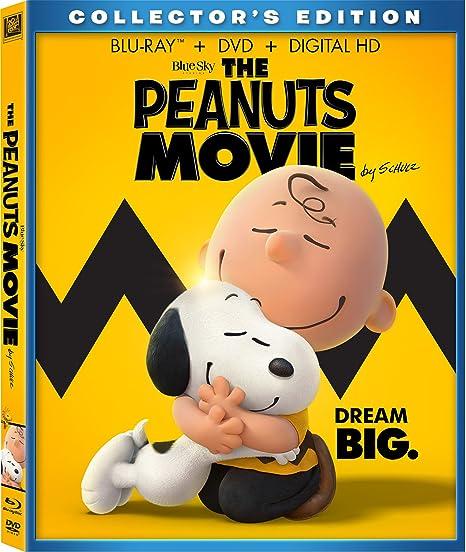 Peanuts Movie, The [Blu-ray]
