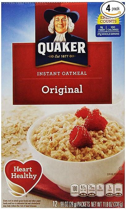 Quaker Instant Oatmeal  Quaker Oatmeal