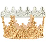 Crown Cake Topper Mold Height 2.8inch, Filigree Tiara (Color: 2.8inch Filigree Tiara #2667)