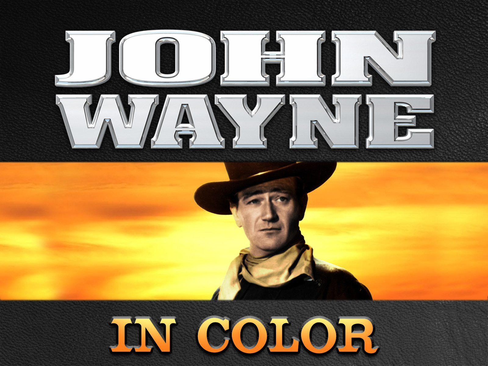 John Wayne in Color