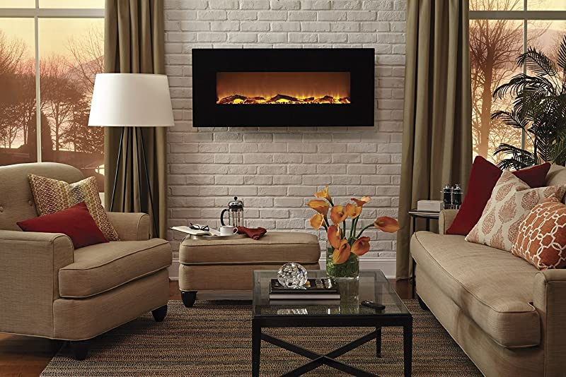 Electric fireplaceBest Electric Fireplace Evaluation Reviews for 2018. Electric Wall Fireplace Heaters. Home Design Ideas