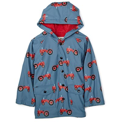 Hatley Farmer Jack Raincoat With Lining In Blue