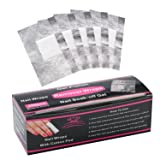 Makartt Nail Polish Remover Soak Off Gel Remover Foils Nail Wraps with Larger Cotton Pad 200Pcs, R-01