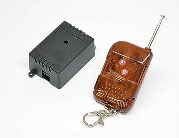 "1 interruttore 220V 10A Kit telecomando a parete /""touch/"" a 1 canale 1CH"