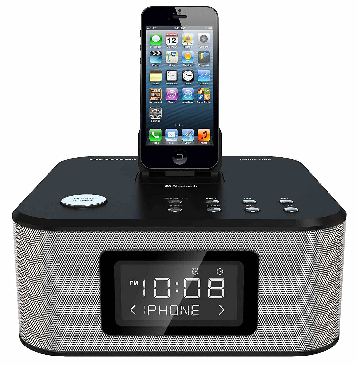 new style 81b5a a8b4c Best iPhone 6 Plus Docking Station With Alarm Clock 2018-2020 on ...