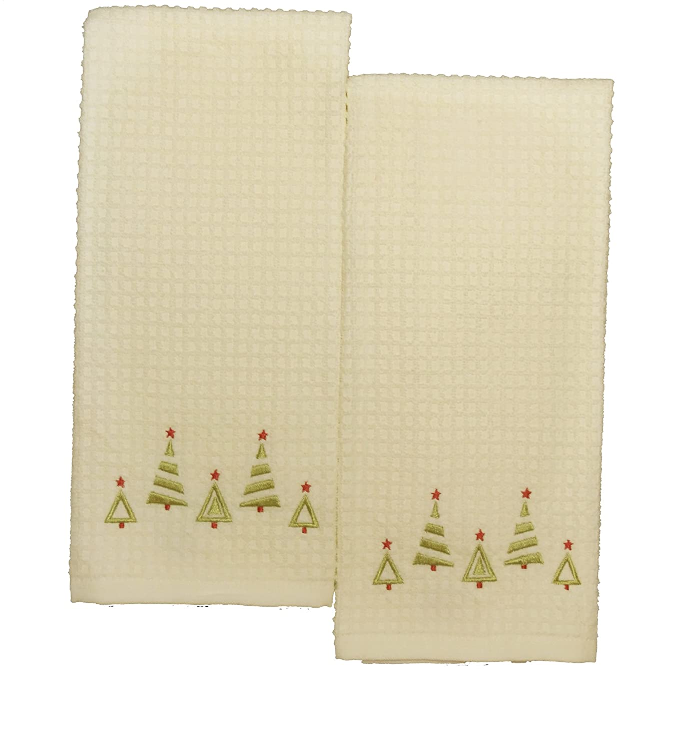 Christmas Trees Kitchen Towels Wikii