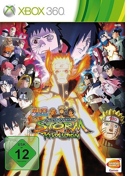 Naruto Shippuden: Ultimate Ninja Storm Revolution, Xbox 360