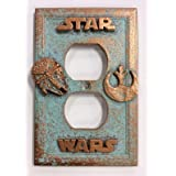 Starwars Outlet Cover Patina or Stone (Custom) (Aged Patina) (Color: Aged Patina)