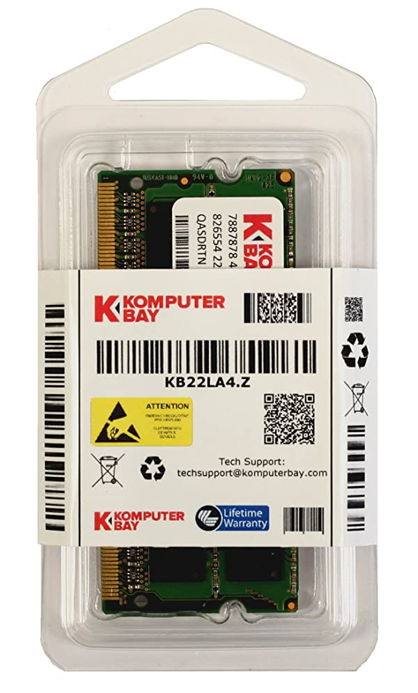 Komputerbay 4GB DDR2 800MHz PC2-6300 PC2-6400 DDR2 800 (200 PIN) SODIMM Laptop Memory (Tamaño: 4 Gb)