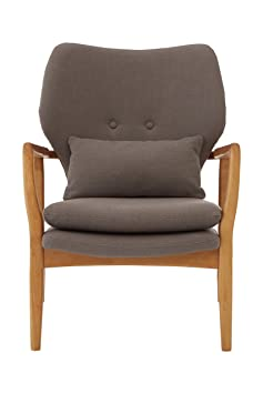 Premier Housewares Stockholm Chair - Grey
