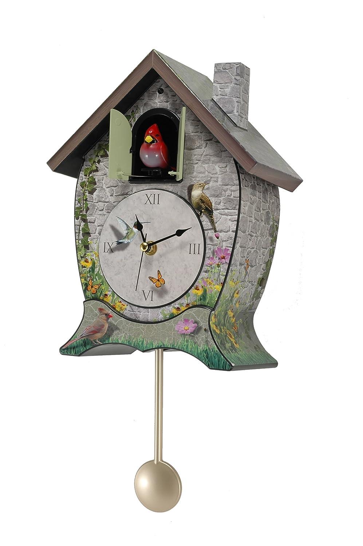 Cardinal Cuckoo Clock