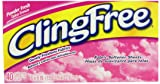 ClingFree Fabric Softener Sheets, Powder Fresh, 40-Count Boxes (Pack of 6)