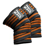 Knee Wraps for Cross Training WODs,Gym Workout,Weightlifting,Fitness & Powerlifting - Best Knee Straps for Squats -Suits Both Men and Women- 72