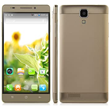 "Bestore® - Star M7 MTK6582 1.3GHz Quad Core 4 5.5"" qHD IPS 960 x 540 pixels d'écran Android 4.4 1 Go de RAM + 8 Go ROM 13MP Caméra Dual SIM 3G WCDMA déverrouillé Smartphone (or)"