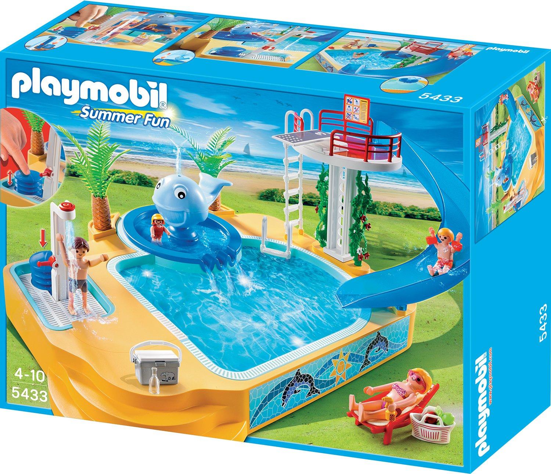 PLAYMOBIL® Erlebnisbad mit Sprudel-Wal (5433)