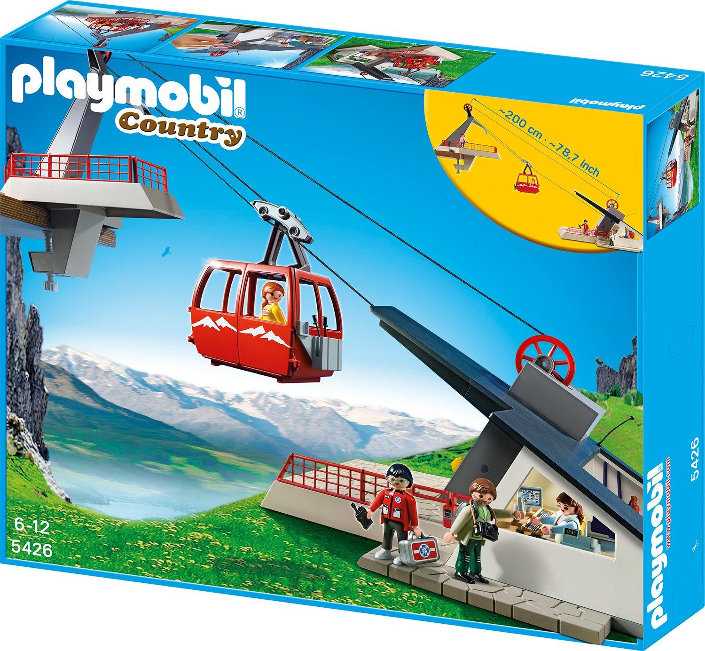 PLAYMOBIL® Seilbahn mit Bergstation (5426)