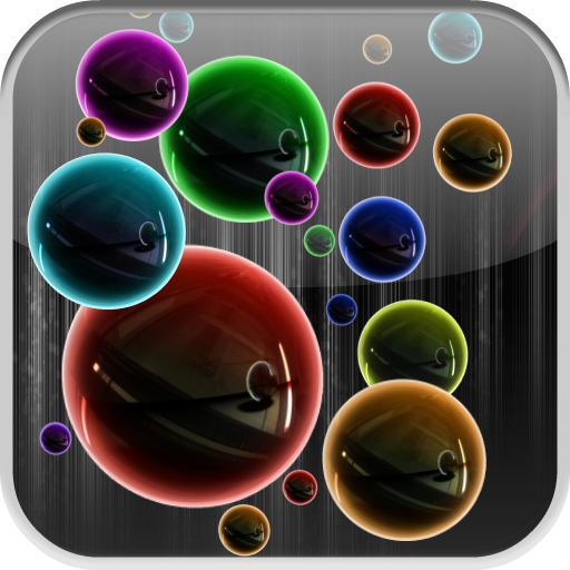 bubbles-neon-hd-live-wallpaper