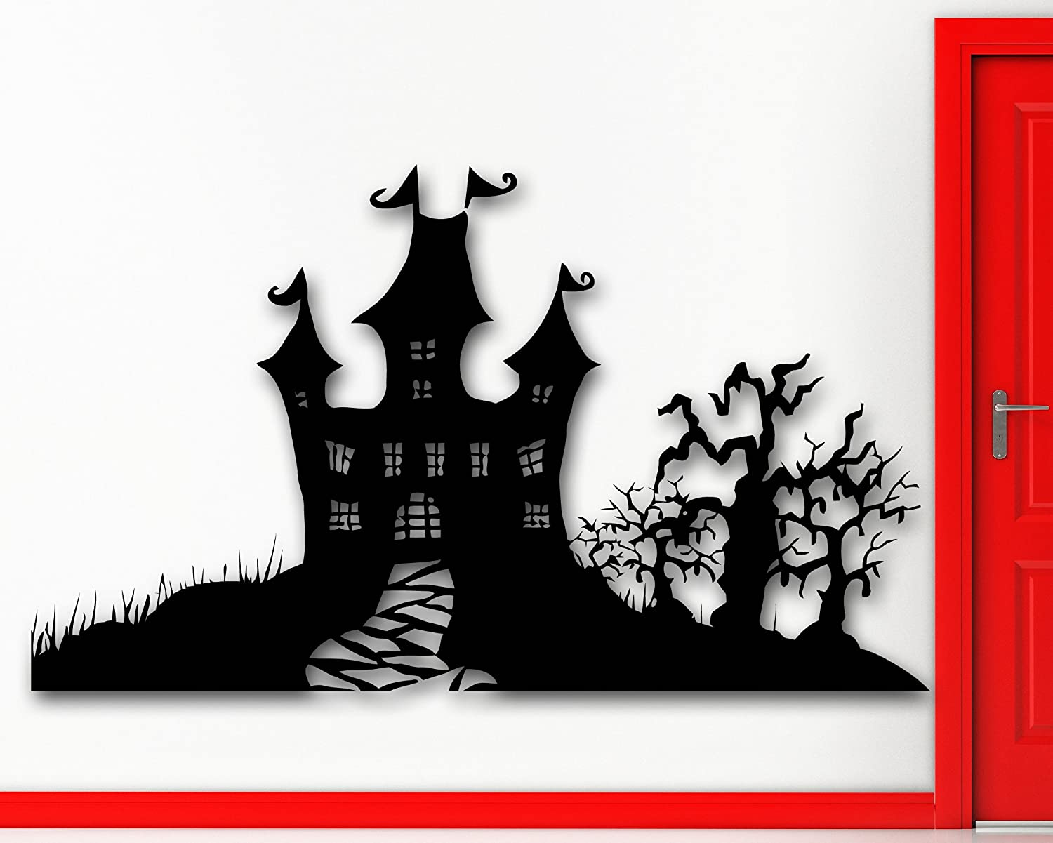 Halloween Wall Sticker Decals Halloween Wikii - Custom vinyl decals for wood   removal options